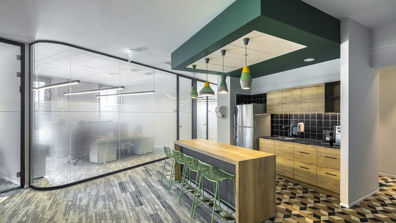 תכנון משרדי DSV ישראל